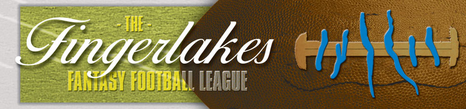 Fingerlakes Fantasy Football League Banner